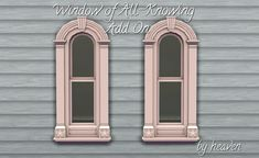Mod The Sims - Victorian Window Add-On - EA Match