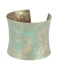 Owl Cuff Bracelet - New Arrivals - Accessories - 1064786970 - Forever21 - StyleSays