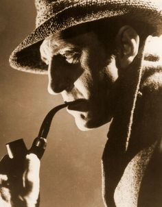 Basil Rathbone - Sherlock Holmes. About to watch his stuff for the first time-so excited!