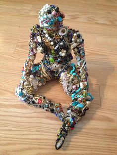 Lady - My Moms Wire Sculptures - yep those are some of my favorite things!