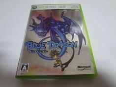 #49 Japan game XBOX 360 Biue Dragon Microsoft Free Shipping Japanese anime  #Microsoft
