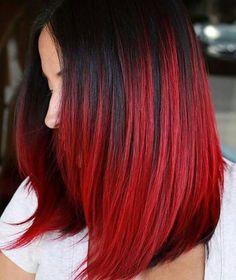 Cabelo vermelho maravilhoso!!!