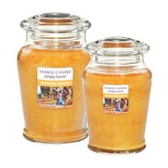 Yankee Candle simply home Absolutely Autumn Jar Candles