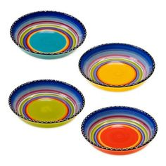 Buy Certified International Tequila Sunrise Assorted Soup/Pasta Bowls (Set of 4) from Bed Bath & Beyond