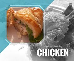 Light and Healthy Chicken Salad recipe