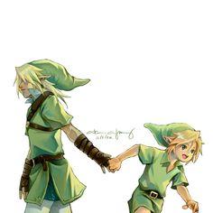 Legend of Zelda   Link by longjunt
