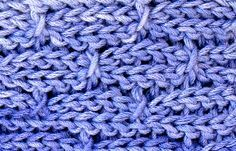 Spike slip stitch swatch. Crochet Inspirations Newsletter #65: Mock Cables in Slip Stitches.