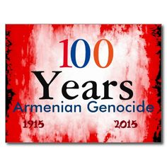 Armenian Genocide Postcard #ArmenianGenocide Go to www.zazzle.com/monstervox for more Armenian Genocide products