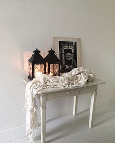 Corner of my bedroom. Black Accents, Rustic Interiors, Entryway Tables, Shabby Chic, Corner, Bedroom, Furniture, Home Decor, Decoration Home