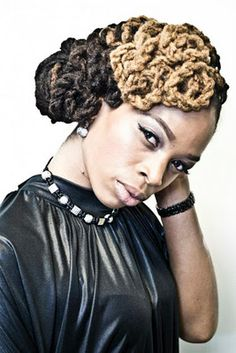Twisted Pin Curls | Black Women Natural Hairstyles