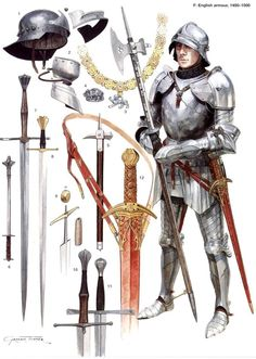 English knight with fullplate.