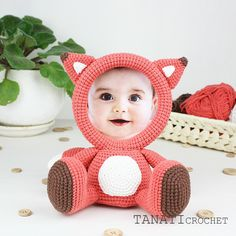 This is a crochet pattern (PDF file) NOT a finished Photo Frame you see on the photos! Crochet Animals, Crochet Toys, Free Crochet, Photo Main, Sewing Patterns, Crochet Patterns, Crochet Designs, Sport Weight Yarn, Frames