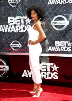 Tracee Ellis Ross at the 2015 BET Awards. See all the best looks from the red carpet.