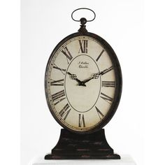 You'll love the Tall Paris Table Clock at Wayfair - Great Deals on all Décor  products with Free Shipping on most stuff, even the big stuff.