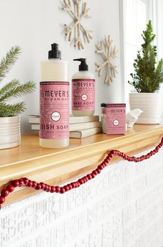 Wrap up something festive and give Mrs. Meyer's Clean Day Cranberry scent as a hostess gift. It's perfect for after party cleanup!