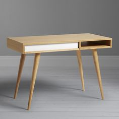 Buy Nazanin Kamali for Case Celine Desk, Oak Online at johnlewis.com