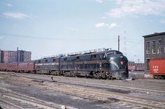 Pennsylvania Railroad, Trains, Diesel, Color, Diesel Fuel, Colour, Train, Colors
