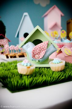 Cozinha, cozinha e mais cozinha!: Festa Infantil - Tema Passarinhos