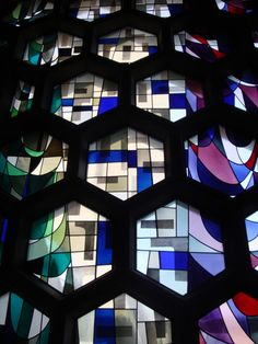 Stained glass windows of St. John's Abbey Church / Marcel Breuer