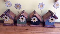 Flower Birdhouse by FurnitureByTodd on Etsy, $25.00
