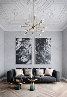 Monochromatic room using mostly black, white and nu… Designer: Brook Lang design. Monochromatic room using mostly black, white and nude. Decoration Inspiration, Interior Inspiration, Decor Ideas, Room Ideas, Inspiration Design, Living Room Color Schemes, Living Room Designs, Colour Schemes, Art Deco Living Room