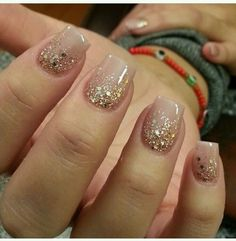 ongles 22 Irresistible Gel Nail Designs You Need To Try In 2017 - Easy Gel Nails Designs Bracelets A Gel Nail Designs, Cute Nail Designs, Nails Design, Nail Designs With Glitter, Pedicure Designs, Fancy Nails, Pretty Nails, Cute Nails For Fall, Hair And Nails