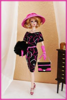 OOAK Fashions for Silkstone / Vintage barbie / Fashion Royalty / Poppy parker