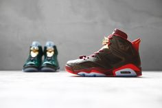 "Air Jordan 6 Retro ""Championship Cigar and Champagne"" Pack"
