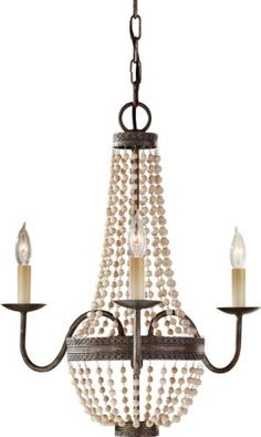 Murray Feiss F27553PBR Charlotte 3 Light Chandelier Peruvian Bronze >>> For more information, visit image link. (Note:Amazon affiliate link)