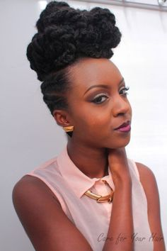 Lovely Natural Hairstyle - http://community.blackhairinformation.com/hairstyle-gallery/natural-hairstyles/lovely-natural-hairstyle/