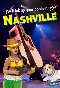Leilani Says: Howdy y'all. If you're music-lovers like Dash and me, Nashville is a can't-miss U.S. travel destination. I mean, they call it Music City. And it's a very family-friendly town. Take the kids to the Country Music Hall of Fame, they'll be head over spurs for the String City puppet theater. Dash's Doggy Tip:  There are a lot of dog-friendly restaurants here, just find one with a patio. And bring your puppy dog eyes—that's your best chance at table scraps.