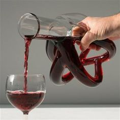 Now that's a decanter! Big Heart Decanter by Etienne Meneau