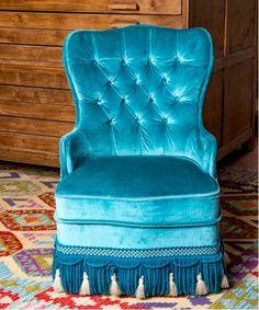 #vintage #estilo #muebles #home #decoration #madrid #descalzadora #butaca #confort Wingback Chair, Armchair, Muebles Home, Madrid, Accent Chairs, Furniture, Home Decor, Yurts, Industrial Furniture