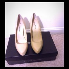 NEW Michael Shannon Pumps Style: Aphrodite Color: Bone Never worn, comes with shoe box. Heel is approximately 3-4 inches. Michael Shannon Shoes Heels