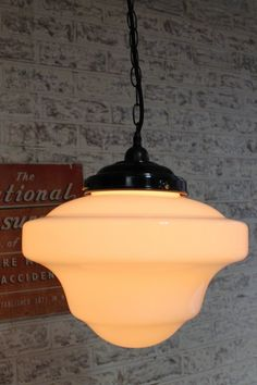 vintage style Schoolhouse Shade Pendant 682x1024