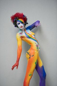 画像 : 【芸術ヌード】女性セクシーボディペイントアート【Body Paint】300選 - NAVER まとめ
