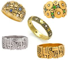 klimt inspired jewelry | And here are the necklaces and bracelets… What can I say? I WANT ONE ...