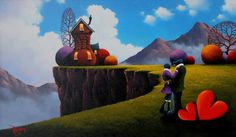Our Pride And Joy. Original Oil Painting by David Renshaw.