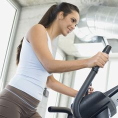 Time For the Elliptical! Try This Fat-Blasting Workout ~ for when I can finally make it past 20 mins. :)