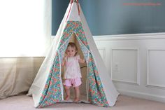 [Sew Fun] DIY Teepee Tutorial
