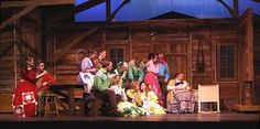 Image result for seven brides for seven brothers set design