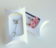 Jewelry Display, Pillow Box