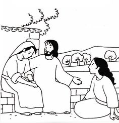17 Best Bible - Mary and Martha images | Bible coloring pages ...