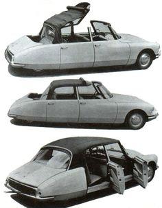 Citroën DS19 Reutter S Cabriolet 4 portes by Reutter 1960