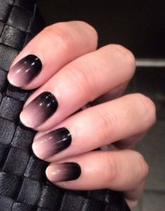 ombre-nails-1 45 Hottest & Catchiest Nail Polish Trends in 2017