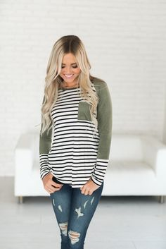 Suede Accent Top