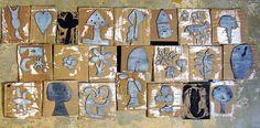 Nicaragua - Printmaking    Cardboard and sticky foam