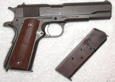 .45 Colt pistol