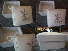 Passioni country: Che scatola ....  scatole rivestite-stoffa
