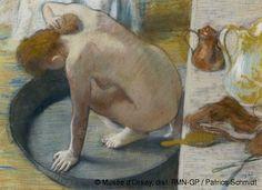 Edgar Degas - La bañera